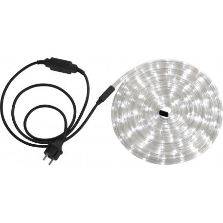 Светодиодная лента в комплекте с питанием Globo Light Tube 38961, IP44, LED 9,21W 1,535Wм 5500K 288lm 48lmм, пластик