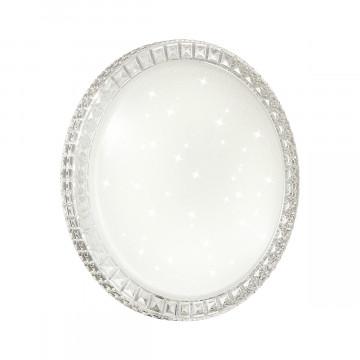 Потолочный светодиодный светильник Sonex Brisa 2036/FL, IP43, LED 90W 6500lm, белый, металл, пластик - миниатюра 2