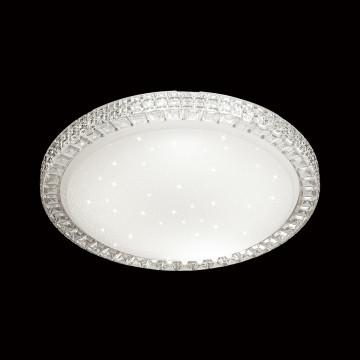 Потолочный светодиодный светильник Sonex Brisa 2036/FL, IP43, LED 90W 6500lm, белый, металл, пластик - миниатюра 4