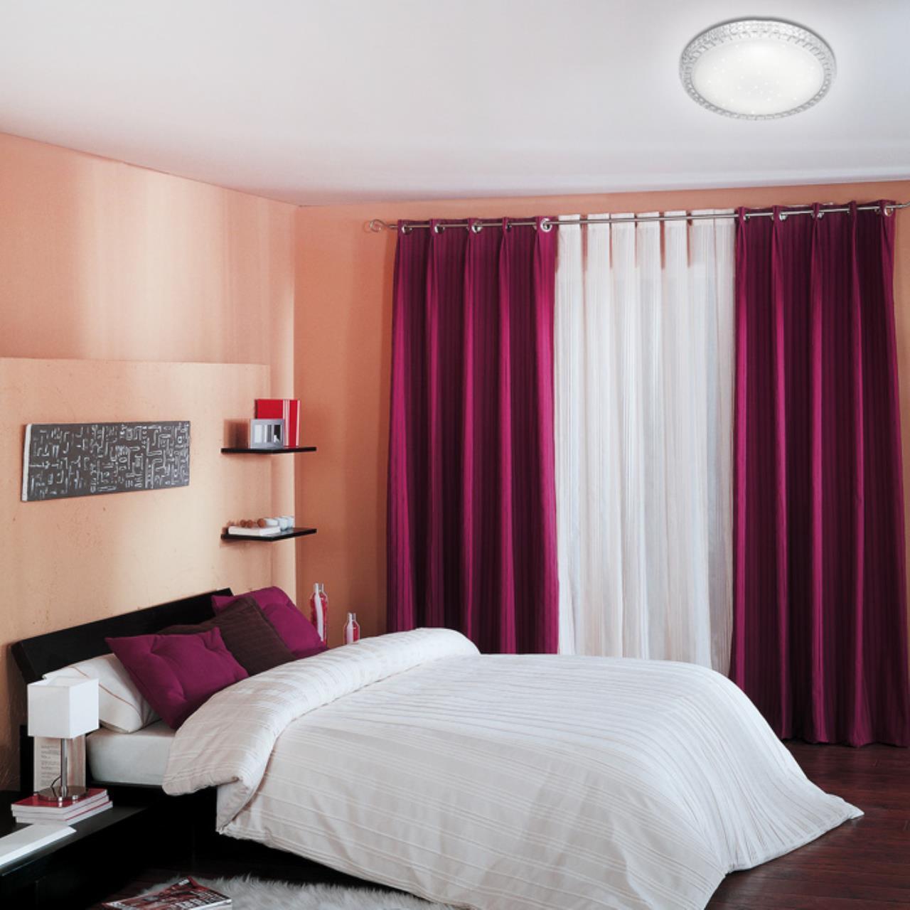 Потолочный светодиодный светильник Sonex Brisa 2036/FL, IP43, LED 90W 6500lm, белый, металл, пластик - фото 7