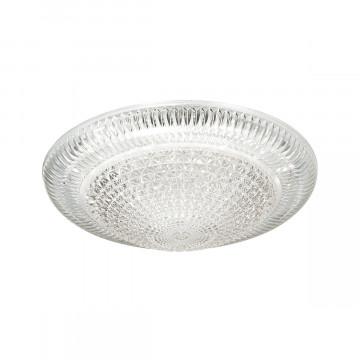 Потолочный светодиодный светильник Sonex Brilliance 2038/EL, IP43, LED 72W 3000-6000K 5000lm, белый, прозрачный, металл, пластик