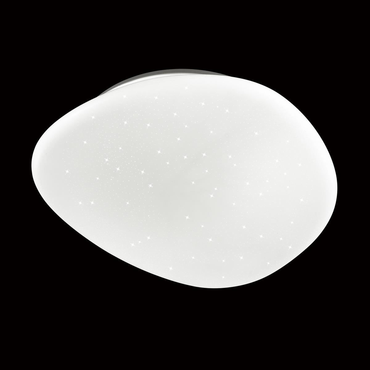 Потолочный светодиодный светильник Sonex Stone 2039/EL, IP43, LED 72W 3000-6000K 5000lm, белый, металл, пластик - фото 3