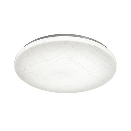 Потолочный светодиодный светильник с пультом ДУ Sonex Modes 2043/EL, IP43, LED 72W 3000-6500K 3612lm, белый, металл, пластик
