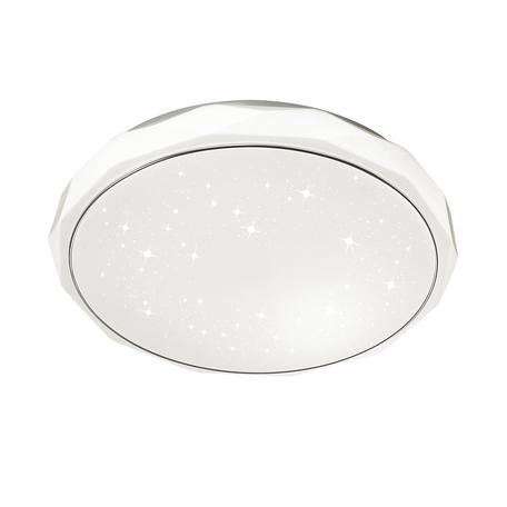 Потолочный светодиодный светильник с пультом ДУ Sonex Gino 2045/EL, IP43, LED 72W 3000-6500K 3612lm, белый, металл, пластик