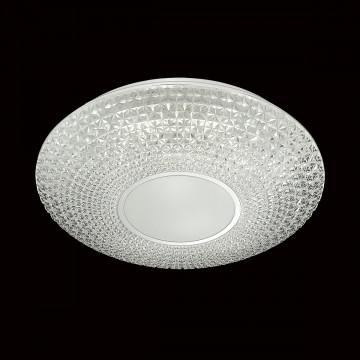 Потолочный светодиодный светильник с пультом ДУ Sonex Visma 2048/EL, IP43, LED 72W 3000-6500K 3612lm, белый, прозрачный, металл, пластик - миниатюра 4