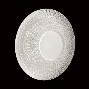 Потолочный светодиодный светильник с пультом ДУ Sonex Visma 2048/EL, IP43, LED 72W 3000-6500K 3612lm, белый, прозрачный, металл, пластик - миниатюра 6