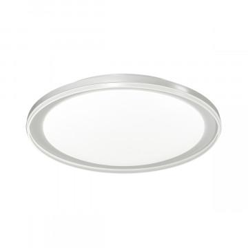 Потолочный светодиодный светильник Sonex Kabrio 2049/EL, IP43, LED 72W 3000-6500K 3612lm, белый, металл, пластик