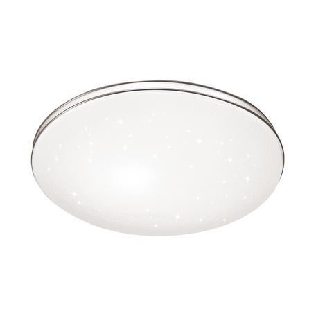 Потолочный светодиодный светильник с пультом ДУ Sonex Leka 2051/ML, IP43, LED 160W 7936-15872lm, белый, хром, металл, пластик