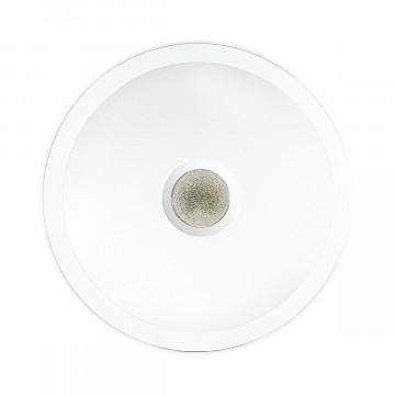 Потолочный светодиодный светильник с пультом ДУ Sonex Galeo 2054/EL, IP43, LED 72W 3000-6500K 3612lm, белый, хром, металл, пластик - миниатюра 3