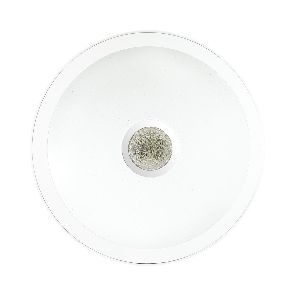 Потолочный светодиодный светильник с пультом ДУ Sonex Galeo 2054/EL, IP43, LED 72W 3000-6500K 3612lm, белый, хром, металл, пластик - фото 3