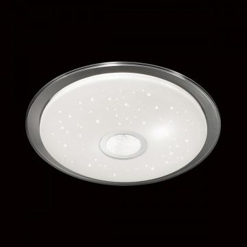 Потолочный светодиодный светильник с пультом ДУ Sonex Galeo 2054/EL, IP43, LED 72W 3000-6500K 3612lm, белый, хром, металл, пластик - миниатюра 4
