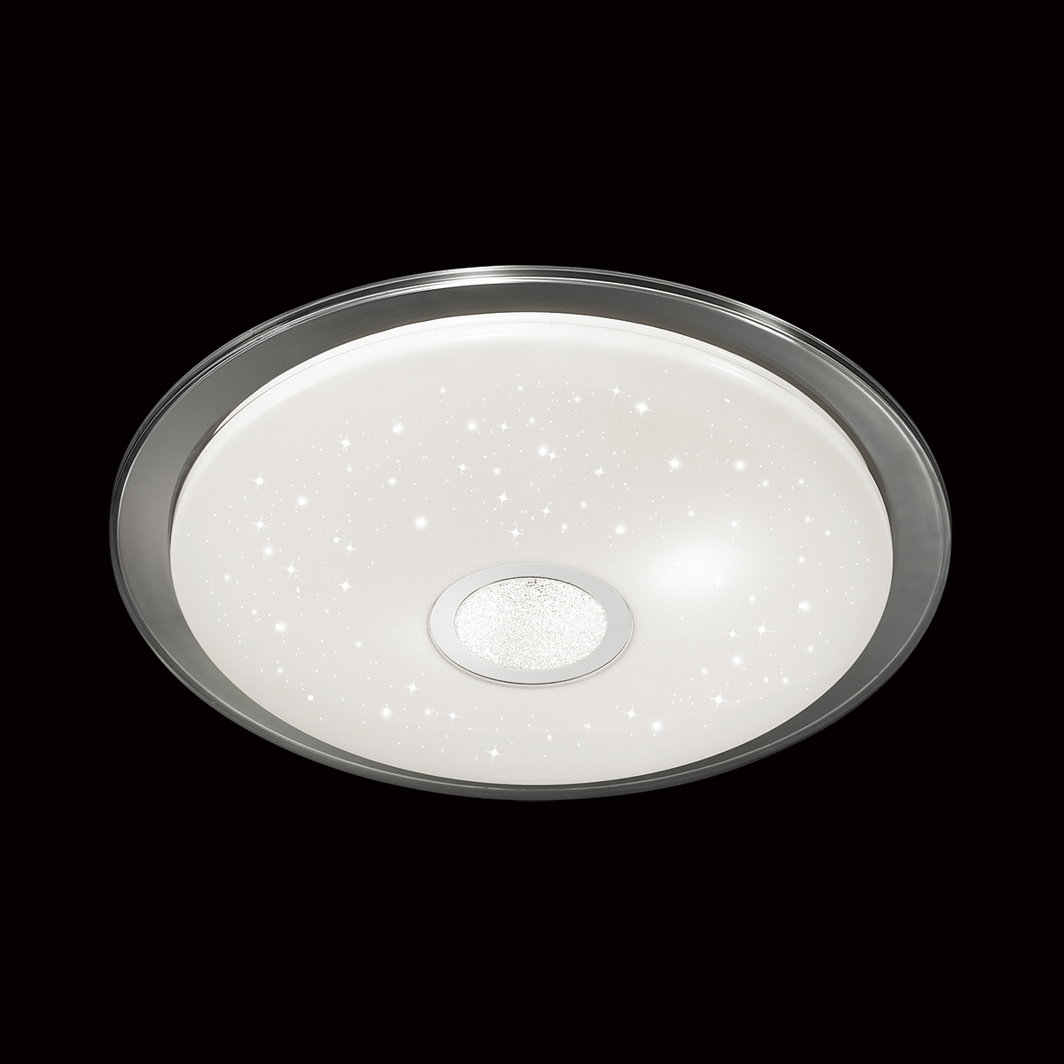 Потолочный светодиодный светильник с пультом ДУ Sonex Galeo 2054/EL, IP43, LED 72W 3000-6500K 3612lm, белый, хром, металл, пластик - фото 4