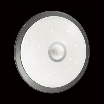 Потолочный светодиодный светильник с пультом ДУ Sonex Galeo 2054/EL, IP43, LED 72W 3000-6500K 3612lm, белый, хром, металл, пластик - миниатюра 5