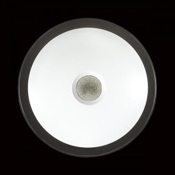 Потолочный светодиодный светильник с пультом ДУ Sonex Galeo 2054/EL, IP43, LED 72W 3000-6500K 3612lm, белый, хром, металл, пластик - миниатюра 6