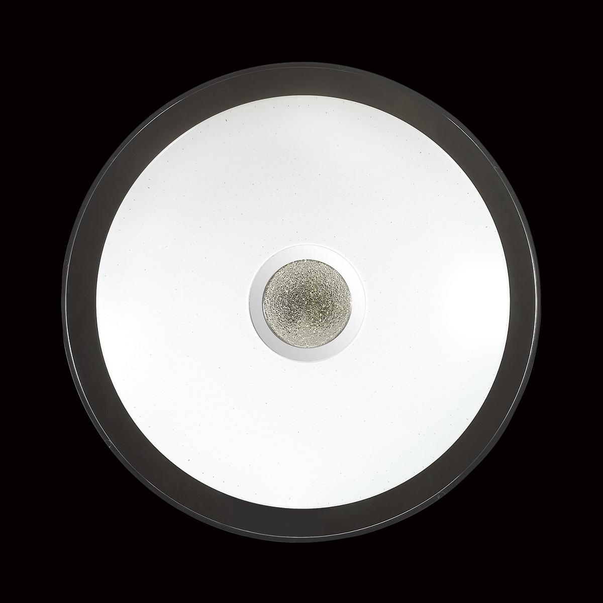 Потолочный светодиодный светильник с пультом ДУ Sonex Galeo 2054/EL, IP43, LED 72W 3000-6500K 3612lm, белый, хром, металл, пластик - фото 6