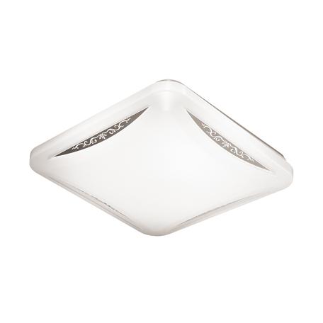 Потолочный светодиодный светильник Sonex Krona 2055/DL, IP43, LED 48W 4000K 3400lm, белый, хром, металл, пластик