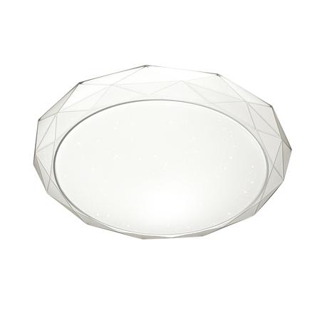 Потолочный светодиодный светильник Sonex Masio 2056/DL, IP43, LED 48W 2360lm, белый, металл, пластик