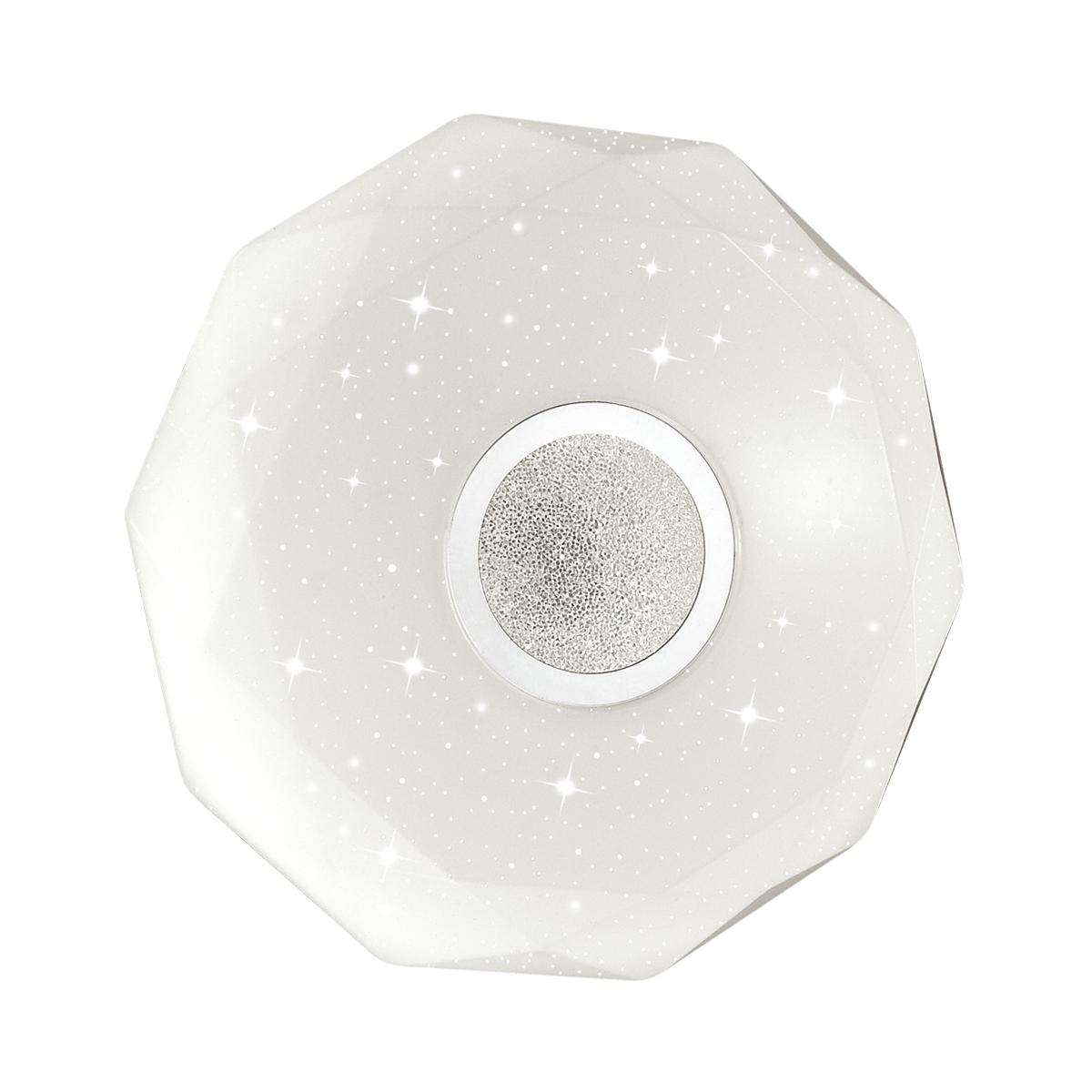 Потолочный светодиодный светильник Sonex Prisa 2057/DL, IP43, LED 48W 2360lm, белый, прозрачный, хром, металл, пластик - фото 2