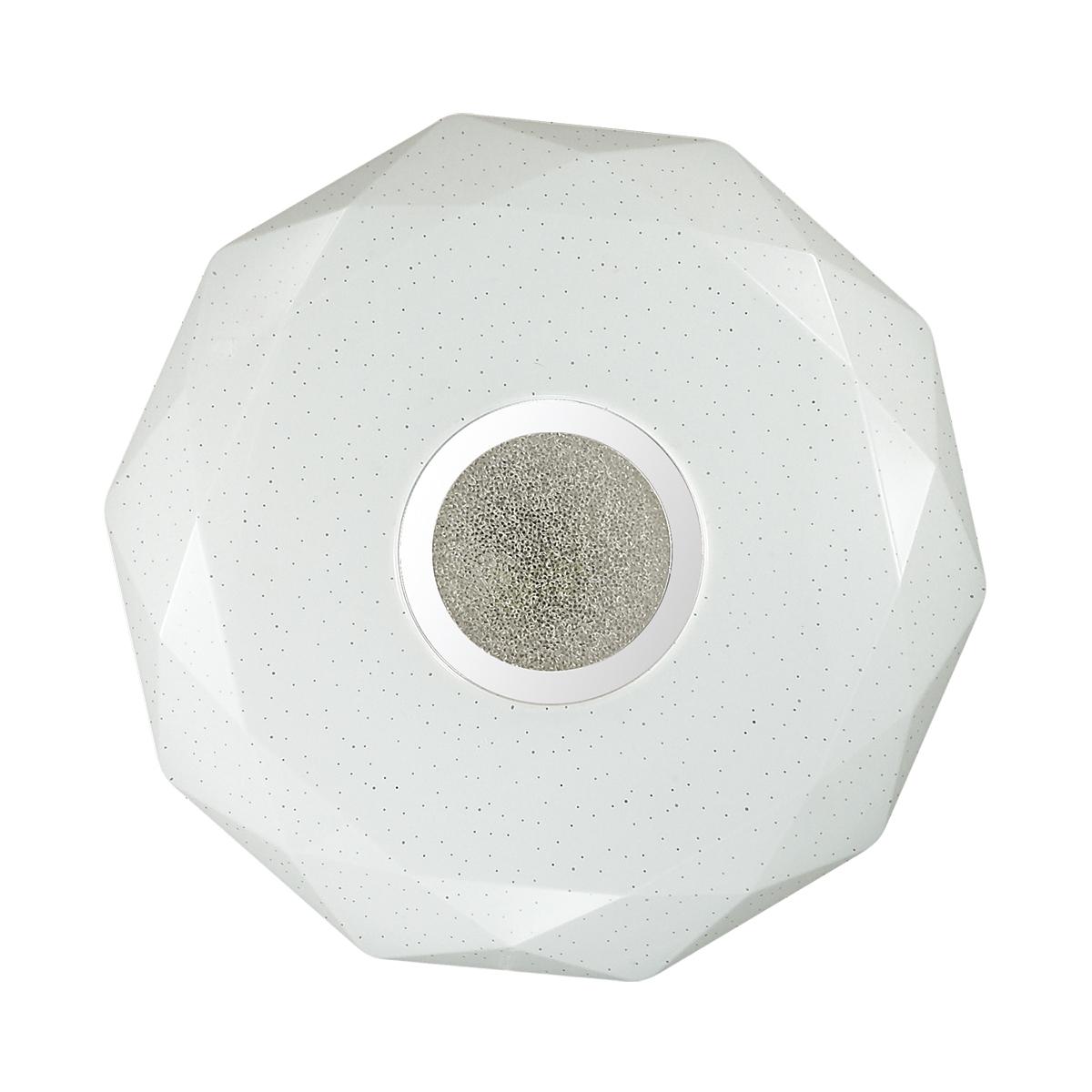 Потолочный светодиодный светильник Sonex Prisa 2057/DL, IP43, LED 48W 2360lm, белый, прозрачный, хром, металл, пластик - фото 3