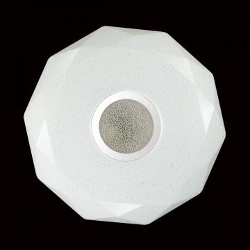 Потолочный светодиодный светильник Sonex Prisa 2057/DL, IP43, LED 48W 2360lm, белый, прозрачный, хром, металл, пластик - миниатюра 6