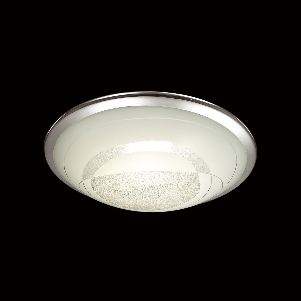 Потолочный светодиодный светильник Sonex Mabia 2062/CL, LED 28W 4000K 1419lm, хром, белый, металл, стекло - фото 4