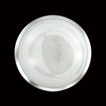Потолочный светодиодный светильник Sonex Mabia 2062/CL, LED 28W 4000K 1419lm, хром, белый, металл, стекло - миниатюра 6