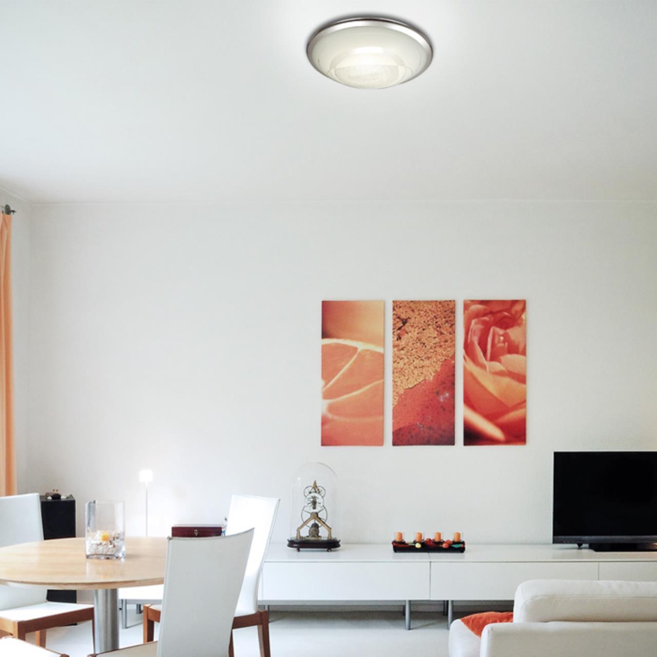 Потолочный светодиодный светильник Sonex Mabia 2062/CL, LED 28W 4000K 1419lm, хром, белый, металл, стекло - фото 7