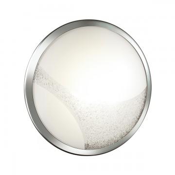 Потолочный светодиодный светильник Sonex Keza 2063/DL, LED 48W, хром, матовый, прозрачный, металл, стекло - миниатюра 2