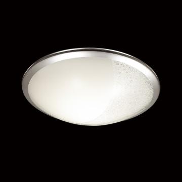 Потолочный светодиодный светильник Sonex Keza 2063/DL, LED 48W, хром, матовый, прозрачный, металл, стекло - миниатюра 4