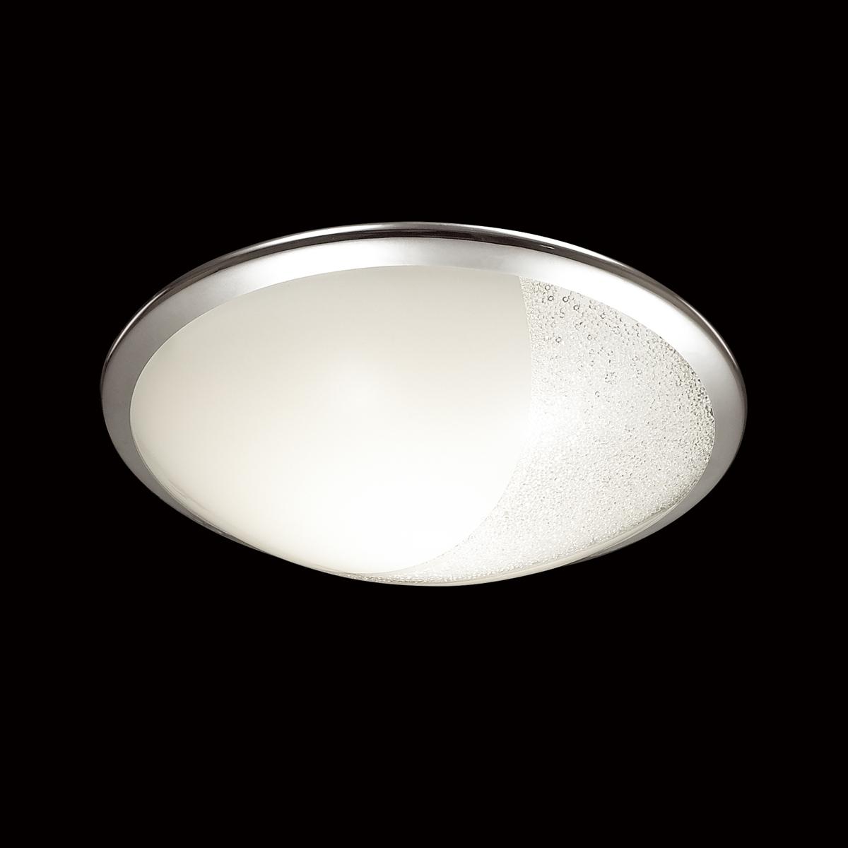 Потолочный светодиодный светильник Sonex Keza 2063/DL, LED 48W, хром, матовый, прозрачный, металл, стекло - фото 4