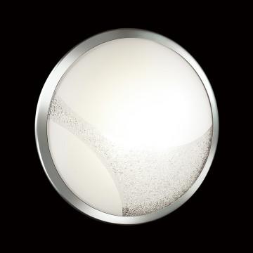 Потолочный светодиодный светильник Sonex Keza 2063/DL, LED 48W, хром, матовый, прозрачный, металл, стекло - миниатюра 5