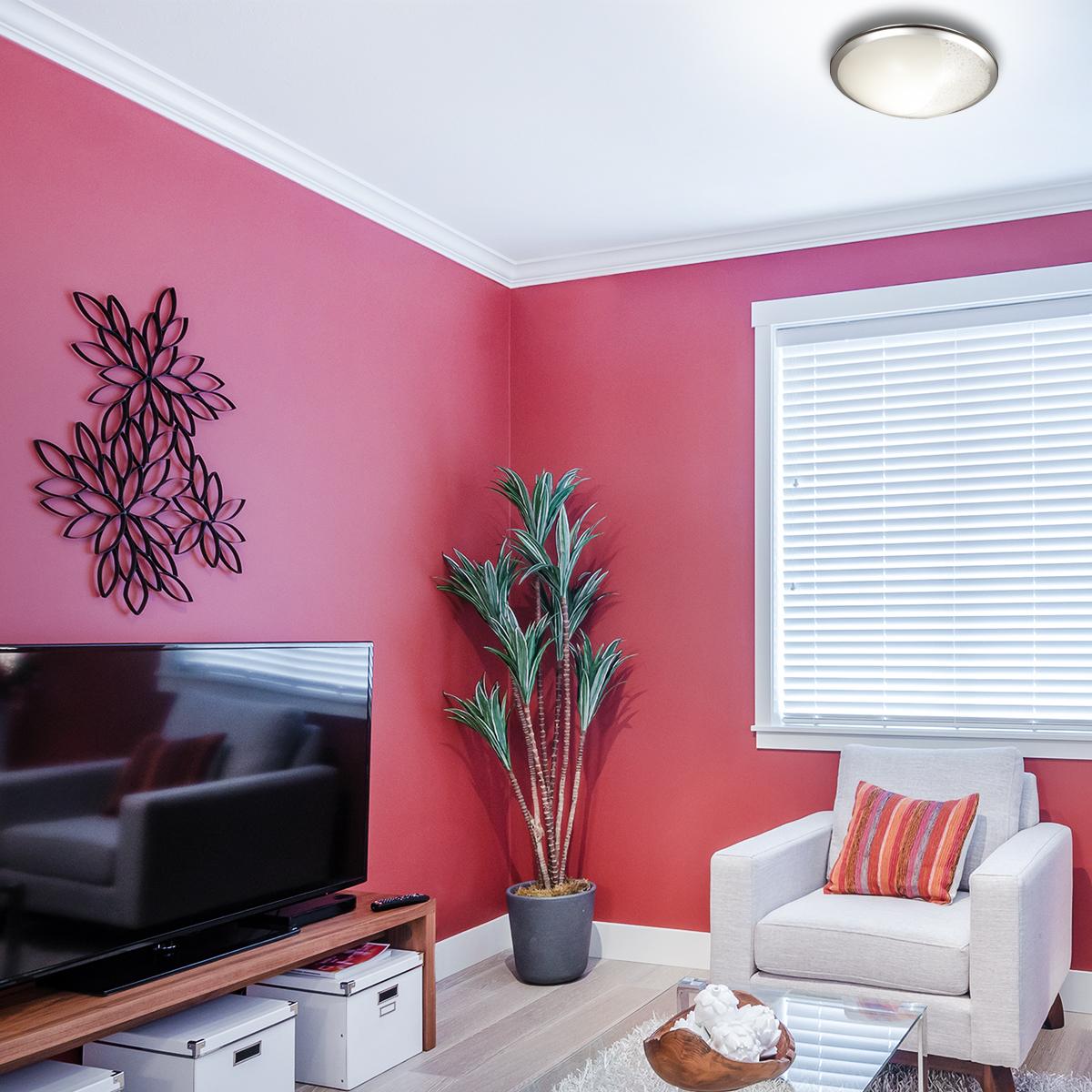 Потолочный светодиодный светильник Sonex Keza 2063/DL, LED 48W, хром, матовый, прозрачный, металл, стекло - фото 7