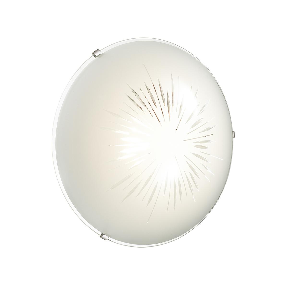 Потолочный светодиодный светильник Sonex Lukka 2064/DL, LED 48W, хром, матовый, прозрачный, металл, стекло - фото 2
