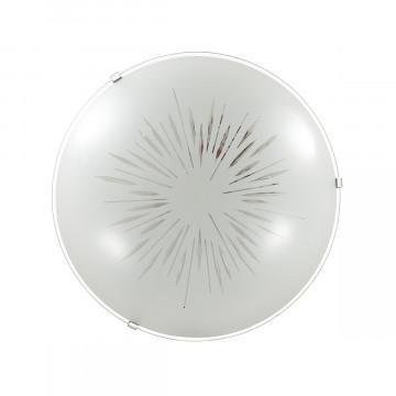 Потолочный светодиодный светильник Sonex Lukka 2064/DL, LED 48W, хром, матовый, прозрачный, металл, стекло - миниатюра 3