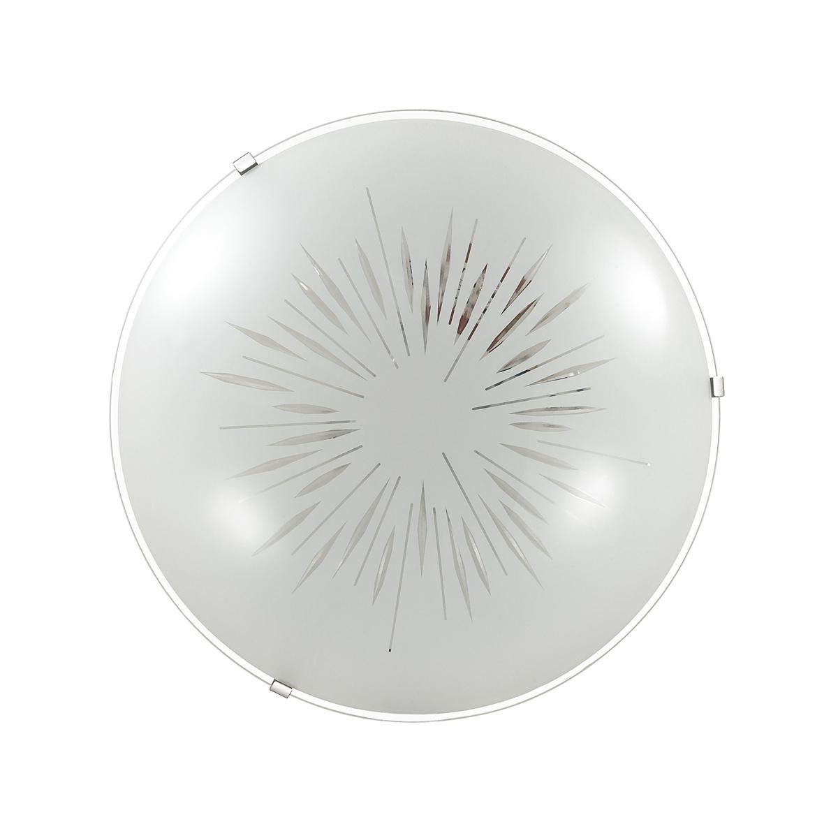 Потолочный светодиодный светильник Sonex Lukka 2064/DL, LED 48W, хром, матовый, прозрачный, металл, стекло - фото 3