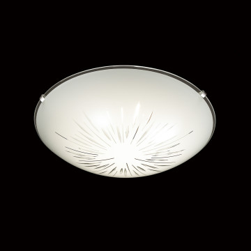 Потолочный светодиодный светильник Sonex Lukka 2064/DL, LED 48W, хром, матовый, прозрачный, металл, стекло - миниатюра 4