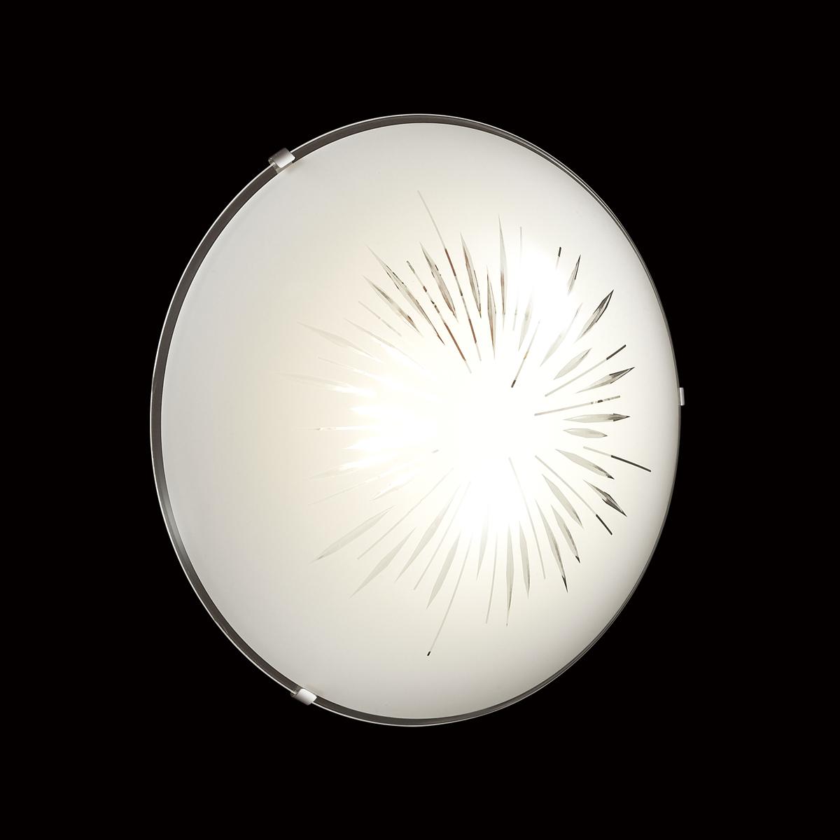 Потолочный светодиодный светильник Sonex Lukka 2064/DL, LED 48W, хром, матовый, прозрачный, металл, стекло - фото 5