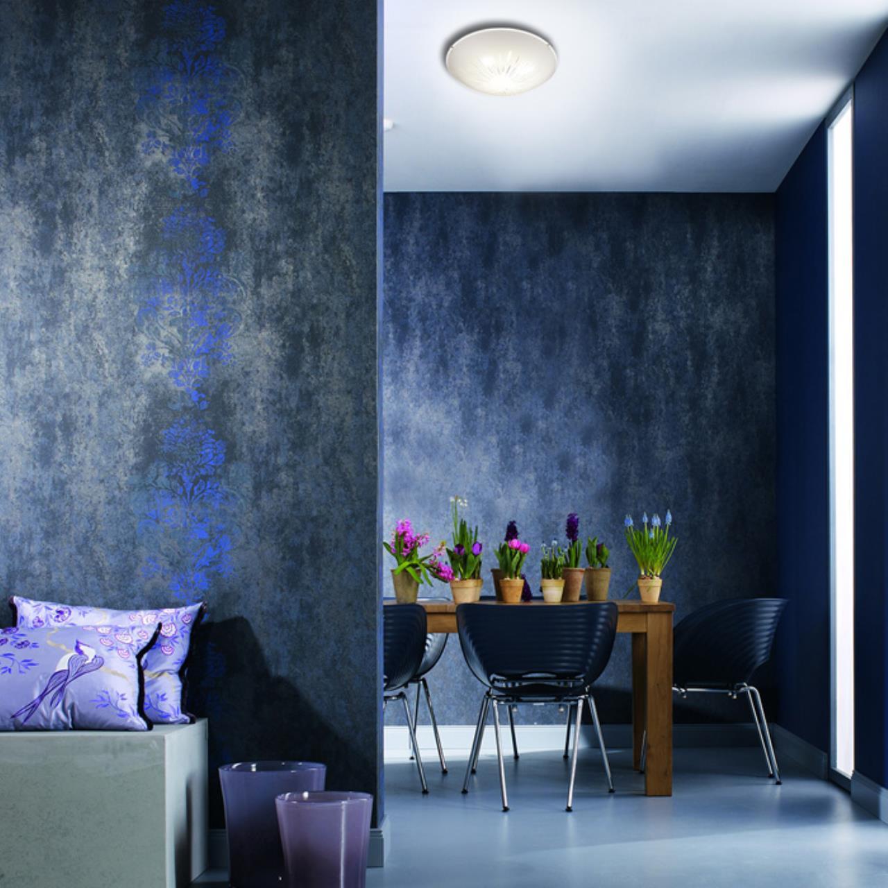 Потолочный светодиодный светильник Sonex Lukka 2064/DL, LED 48W, хром, матовый, прозрачный, металл, стекло - фото 7