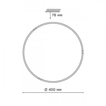 Схема с размерами Sonex 2070/DL