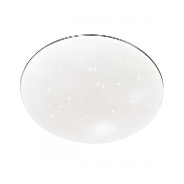 Светодиодный настенно-потолочный светильник для ванной комнаты Сонекс 2052/CL Abasi, хром, белый