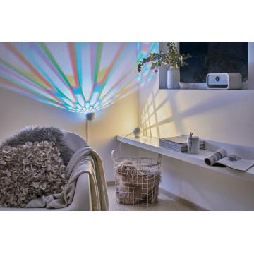 Настольная светодиодная лампа Paulmann Favia 79696, LED 6W, серый, белый, пластик - миниатюра 1