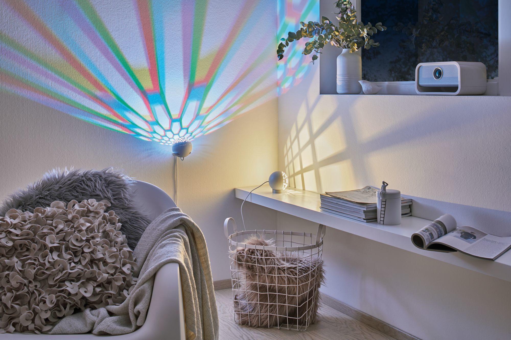 Настольная светодиодная лампа Paulmann Favia 79696, LED 6W, серый, белый, пластик - фото 1