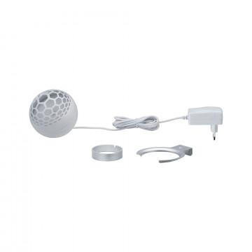 Настольная светодиодная лампа Paulmann Favia 79696, LED 6W, серый, белый, пластик - миниатюра 6