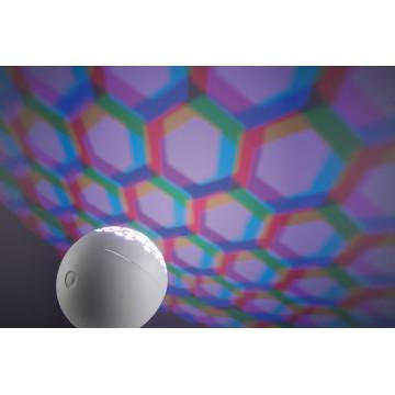 Настольная светодиодная лампа Paulmann Favia 79696, LED 6W, серый, белый, пластик - миниатюра 7
