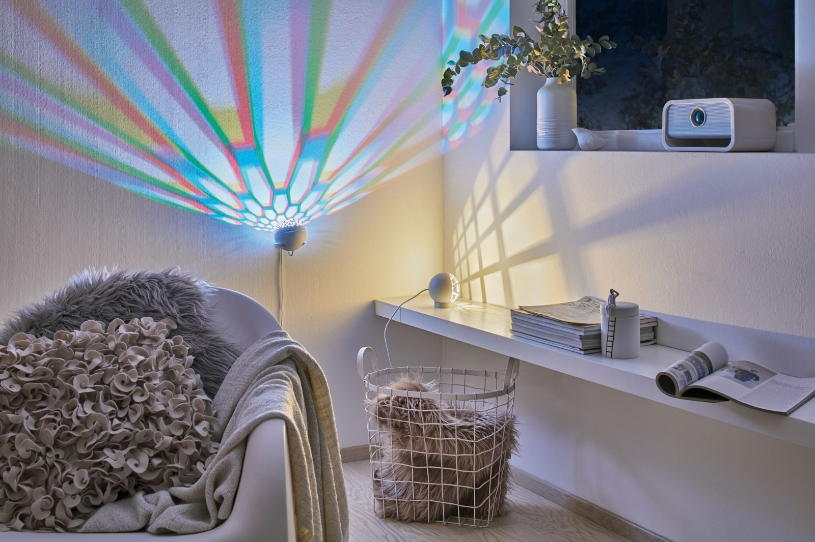 Настольная светодиодная лампа Paulmann Favia 79696, LED 6W, серый, белый, пластик - фото 8