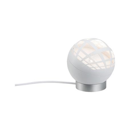 Настольная светодиодная лампа Paulmann Favia 79697, LED 5W, серый, белый, пластик