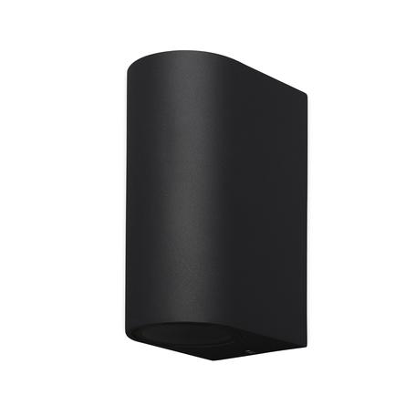 Настенный светильник Mantra Kandanchu 7037, IP54, 2xGU10x10W, черный, металл