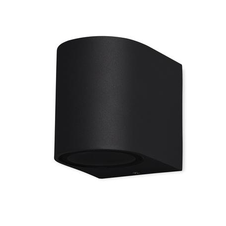 Настенный светильник Mantra Kandanchu 7039, IP54, 1xGU10x10W, черный, металл