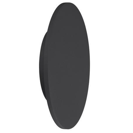 Настенный светодиодный светильник Mantra Bora Bora C0124, LED 16W 3000K 1350lm, черный, металл