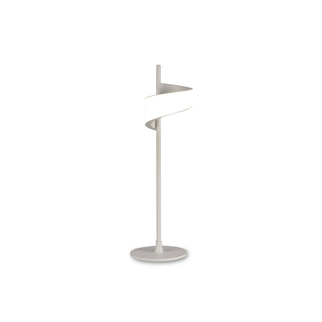 Настольная светодиодная лампа Mantra Tsunami 6655, LED 6W 3000K 450lm, белый, металл, пластик
